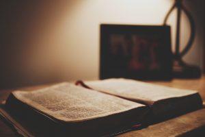 Scripture Book Bible Open Book Open Bible